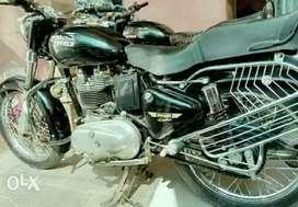 Bullet Electra 350 cc Black panther
