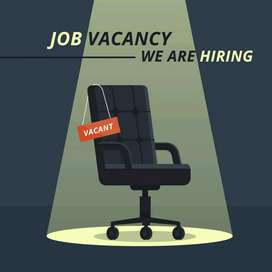 Receptionist with good English  depending on  experience