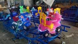 Produsen wahana mainan labirin bundar paket odong kereta panggung