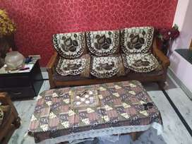 5 Seater Sofa 3+1+1 With table