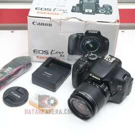 Kamera Canon EOS Kiss X5(600D)