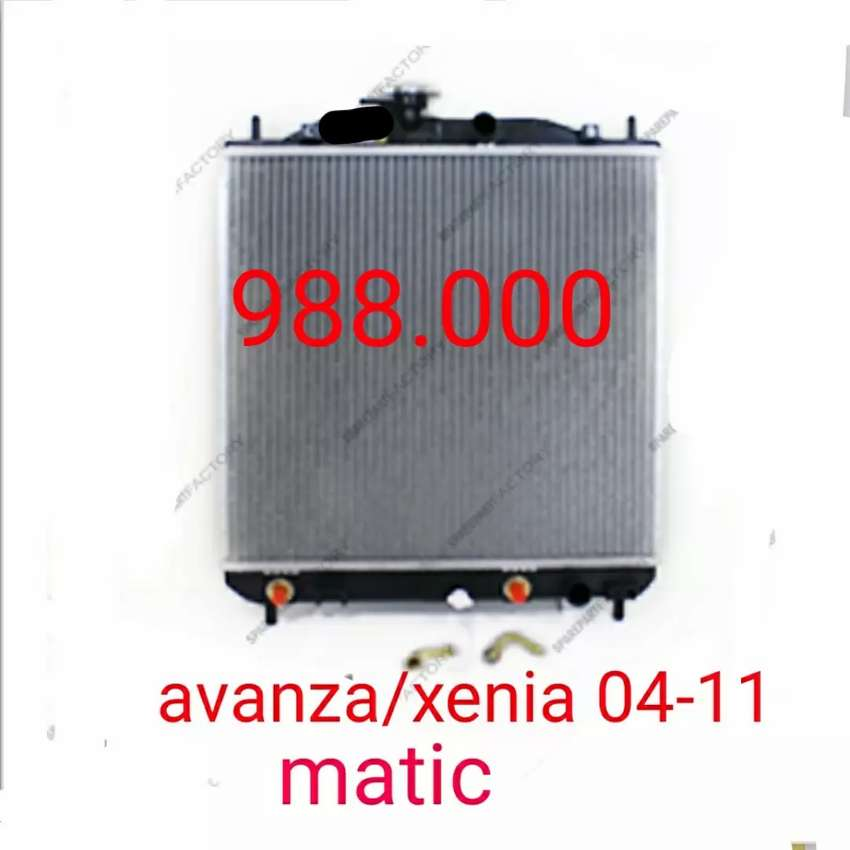 Radiator mesin avanza xenia 04-11 automatic 0