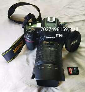 Nikon camera 7500 HD