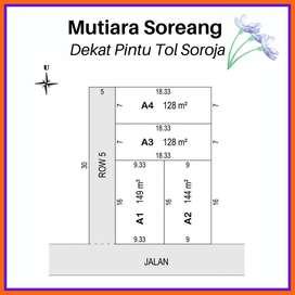 Kavlingan Strategis Dekat Ibu Kota Kabupaten Bandung, Bunga Cicilan 0%