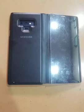 Samsung note9 blue 8gb ram 515 gb storage