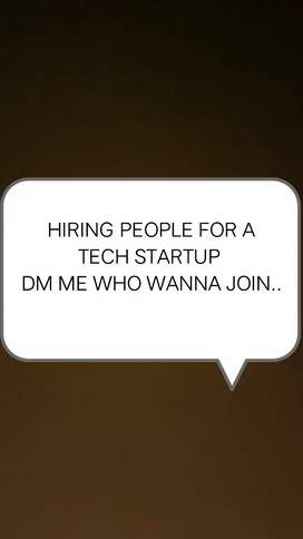 Hiring people for startup