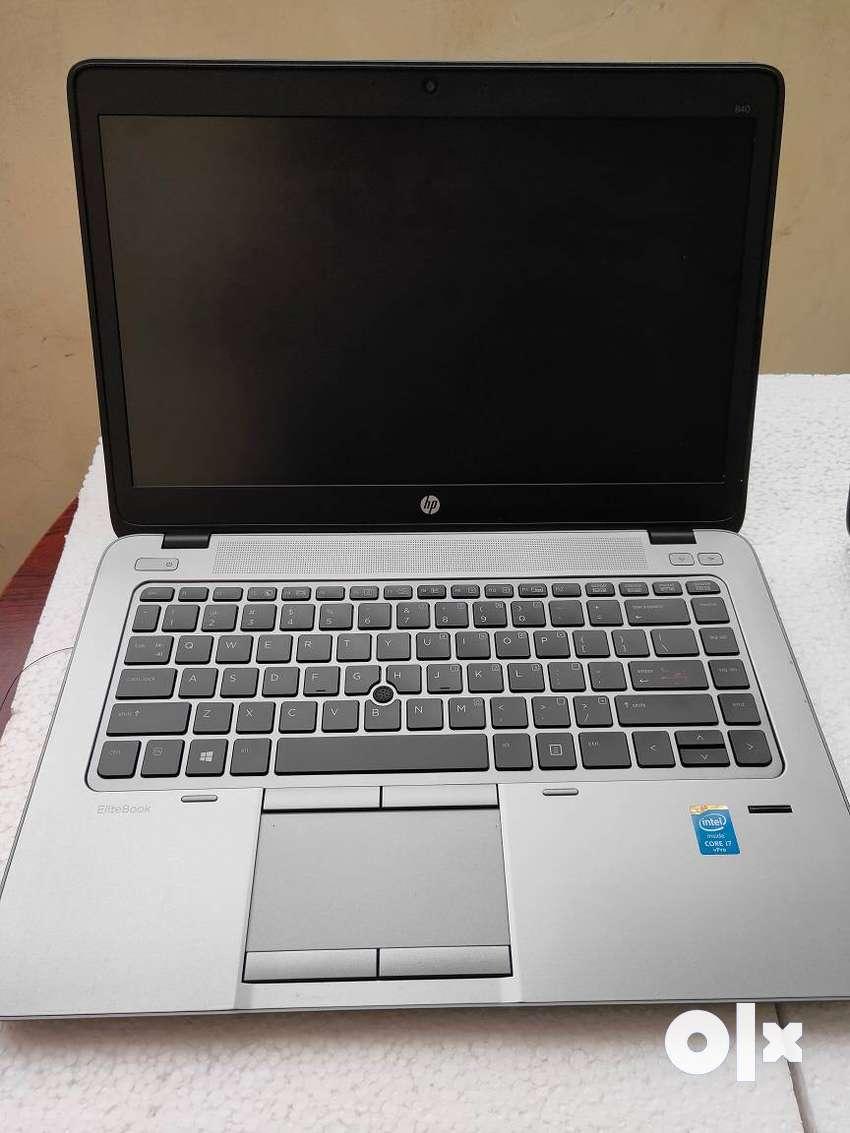 HP EliteBook 840G2 Core-i7 5th Gen, 16GB-750GB UltraBook with Warranty 0
