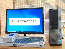 Dell branded full desktop lowest price