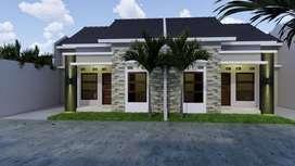 Rumah Type 40/70 Lokasi Strategis Harga Murah Barat Kota Klaten