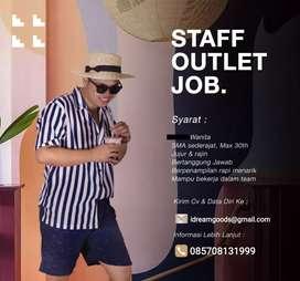 Staff Outlet Job