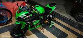 Ninja 250cc hijau