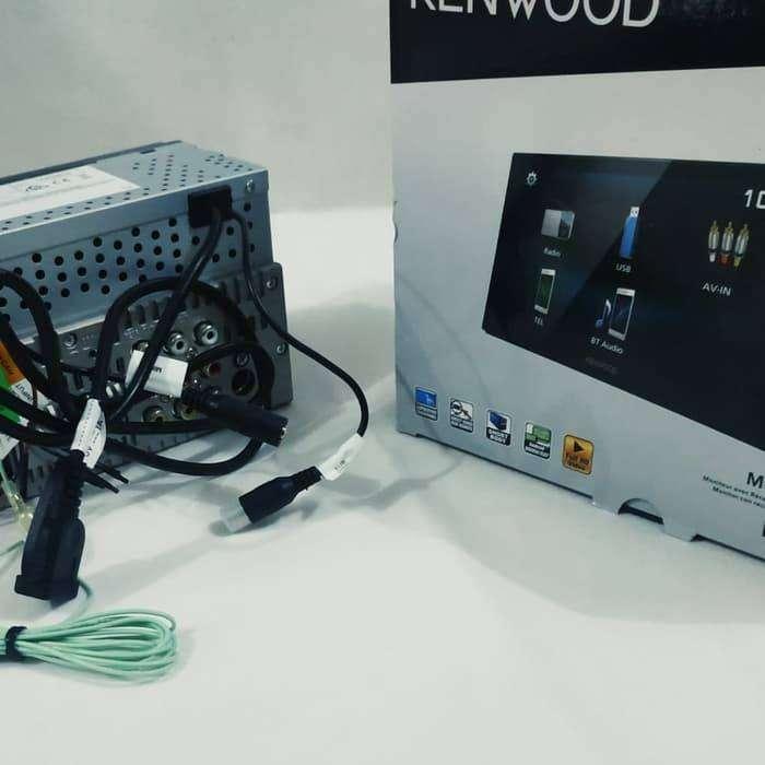 Double din Kenwood dmx 1025 bt deckless mirrorlink Bluetooth garansi 0