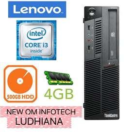 i3 LENOVO / 500GB HDD / 4GB RAM / WARRANTY ALSO / CALL NOW
