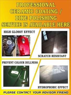 Bike & car polishing and ceramic coating service