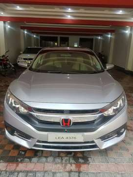 Honda Civic 21 installmints paid 65000 per month Bank Leased