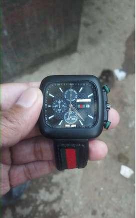 Black Square Watch
