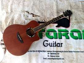Guitar Yamaha APX Natural Coklat Kayu Istimewa Model Mewah Suara