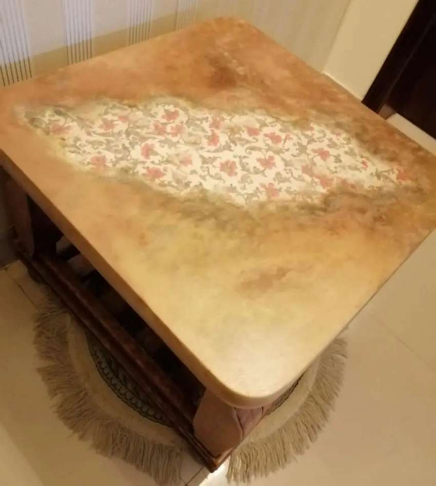 Vintage Style Coffee Table For Sale 0