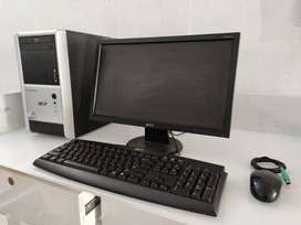 Acer-dual core 18.5 monitor