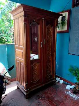 Teakwood Almirah & Cot with very good condition