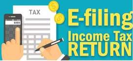 Income Tax Return, GST Return @ Lowest Rate And Best Services