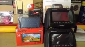 Double din tv, antenaTV, Camera,Tv hedres satu set+psg