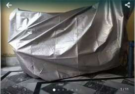 Bike parking cover is available 70/150 heavy bikes  sizes water proof
