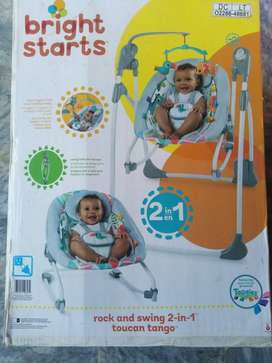 Bright Starts rock and swing 2-in-1 toucan tango