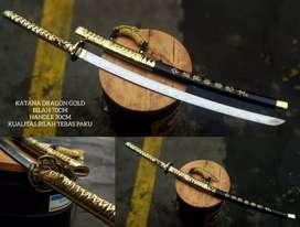 Pedang katana tebas paku