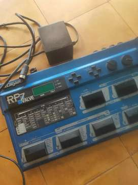 Efek Digitech RP7 valve