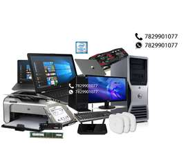 IT services Comp/Lap, servers, firewall,CCTV, Lan,
