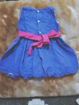 Dress balita merek hipo baby