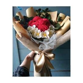Buket bunga rustic