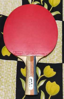 Stag Table Tennis 4 Star Racket (used for 5-6 months)