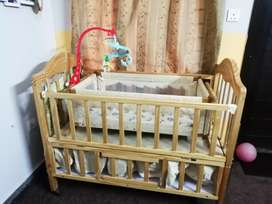 Baby cot / Baby Bed with swing (Jhoola)