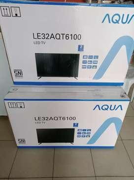 """Tv led 32"""" Aqua Japan harga promo"""