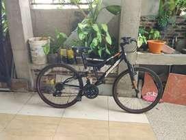 Sepeda MTB FullSus Murah Serang Kota
