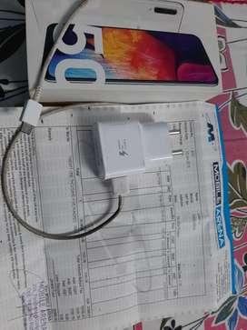 Samsung A50 white colour 6gb 64gb new new condition.