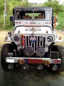 White ford jeep for sale