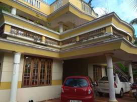 Fully furnished house first floor for rent in Sreekaryam - Ulloor NH