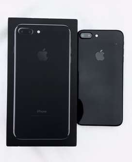 Iphone 7 plus jet black 128gb with box and accessories