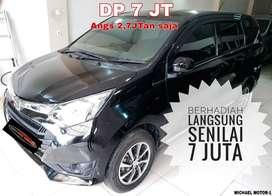 Daihatsu Sigra DP7Jt X Deluxe Manual 2017 Hitam Tgn1 Bkn NIK 2016
