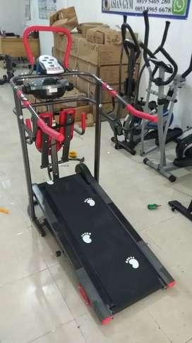 Treadmill manual 7 fungsi terlengkap
