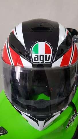 Helm AGV K3 SV Avior White Italy , Like New
