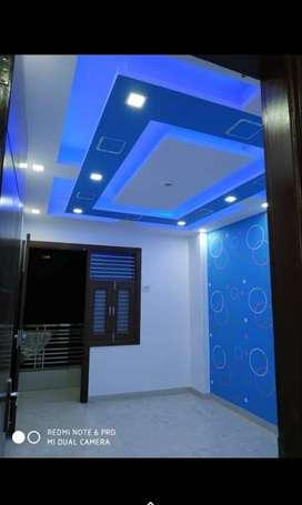 =3bhk Floor=in uttam nagar west= with loan by bank from metro 800MRT