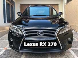 Lexus RX 270 2014/2011, Perfect Condition