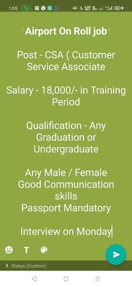 Hr Recruiter job in Gurgaon for Freshers female