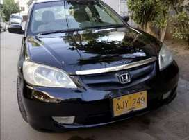 Civic Oriel 2005 on easy installment..