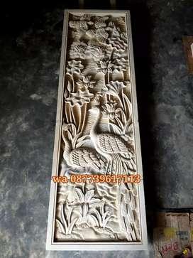batu alam relief ornamen loster