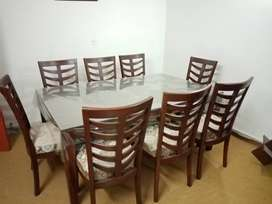 Brand New Dining Table with 8 Chairs